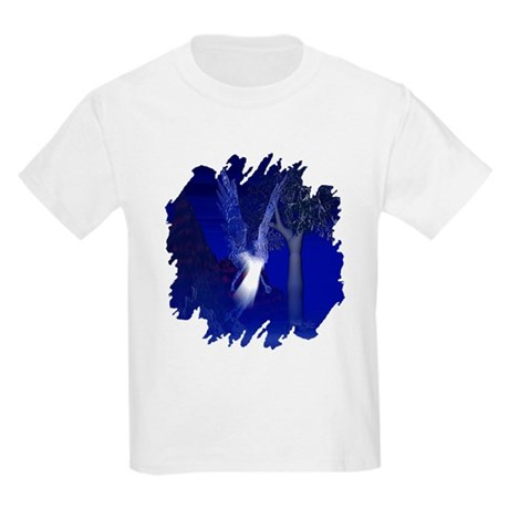 Iridescent Angel Kids Light T-Shirt