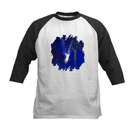 Iridescent Angel Kids Baseball Jersey