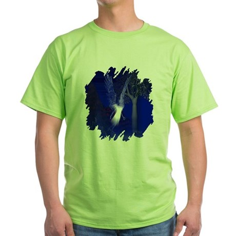 Iridescent Angel Green T-Shirt
