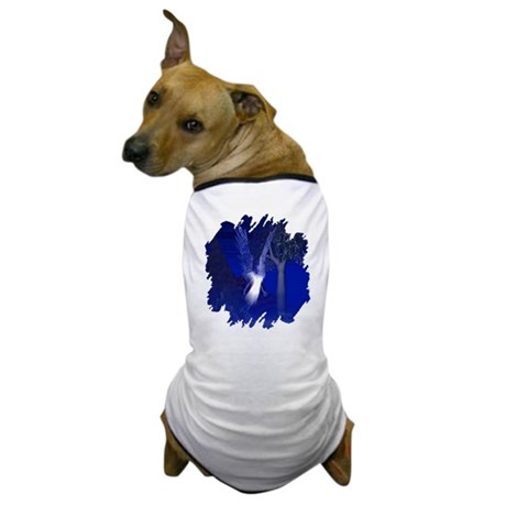 Iridescent Angel Dog T-Shirt