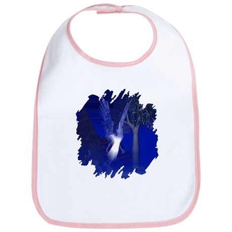 Iridescent Angel Bib