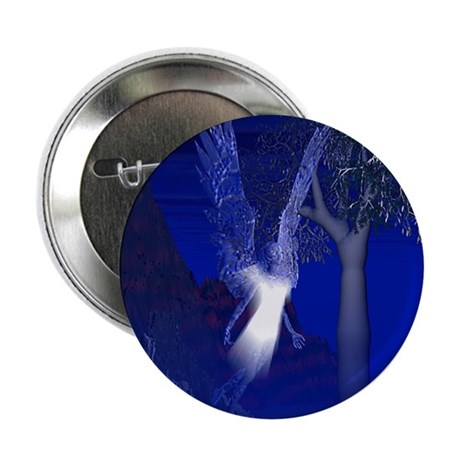 "Iridescent Angel 2.25"" Button"
