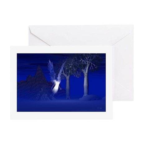 Iridescent Angel Greeting Card