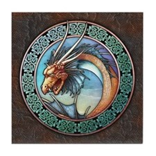 Sea Dragon Tile Coaster