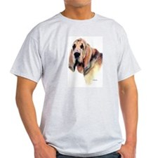 Bloodhound Gifts Ash Grey T-Shirt