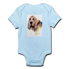 Bloodhound Gifts Infant Creeper