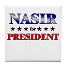 Cute Nasir Tile Coaster