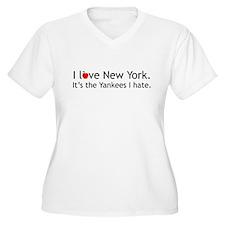 """I love New York. It's the Yankees I hate."" Shirt"
