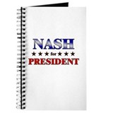 NASH for president Journal