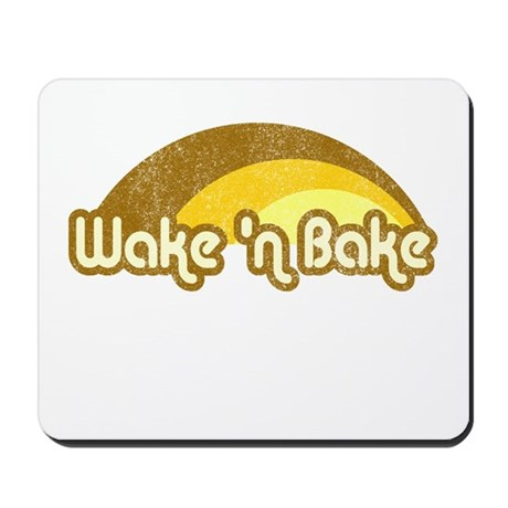 Wake 'n Bake Mousepad