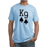 King Nine of Spades Poker Shirt