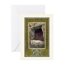 Hollow Hill Celtic Greeting Card