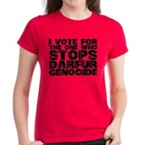 VOTE FOR DARFUR Tee
