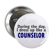 """Dress Up Like A Counselor 2.25"""" Button (100 pack)"""
