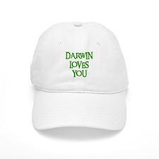 Darwin Loves You Baseball Cap