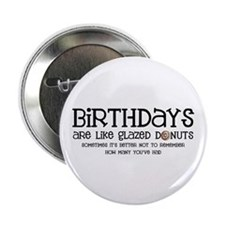 "Glazed Donuts 2.25"" Button (10 pack)"