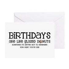 Glazed Donuts Greeting Card