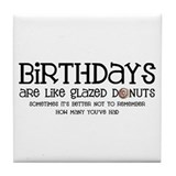 Glazed Donuts Tile Coaster