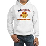 Made in America with Macedonian parts Hoodie