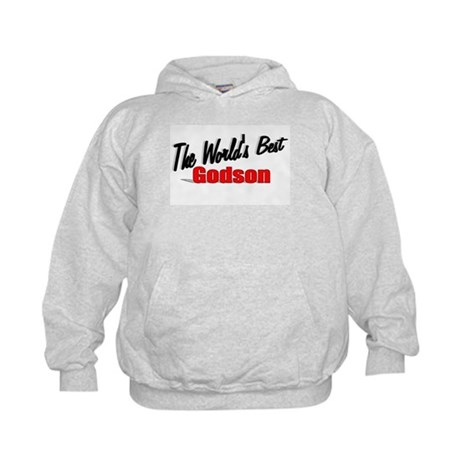&quot;The World's Best Godson&quot; Kids Hoodie