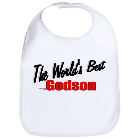 &quot;The World's Best Godson&quot; Bib