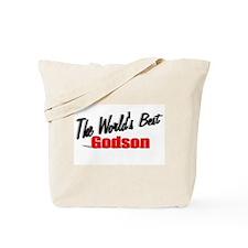 """The World's Best Godson"" Tote Bag"