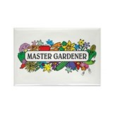 Master Gardener Rectangle Magnet
