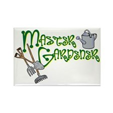 Master Gardener Rectangle Magnet (10 pack)
