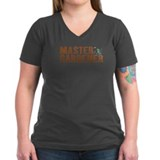 Master Gardener Women's V-Neck Grey T-Shirt