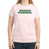 Plant Manager Women's Pink T-Shirt