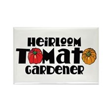 Heirloom Tomato Rectangle Magnet