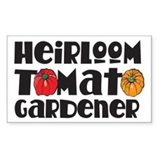 Heirloom Tomato Rectangle Decal