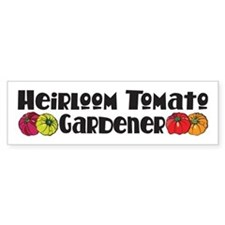 Heirloom Tomato Bumper Bumper Sticker