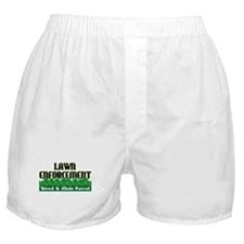 Lawn Enforcement Boxer Shorts