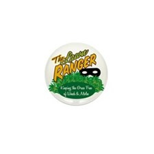 Lawn Ranger Mini Button (100 pack)