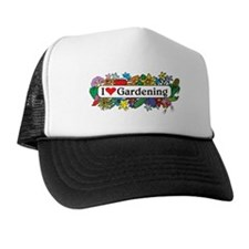 I Heart Gardening Trucker Hat