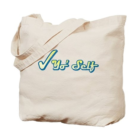 Check Yo' Self (Vintage) Tote Bag