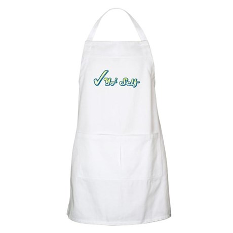Check Yo' Self (Vintage) BBQ Apron