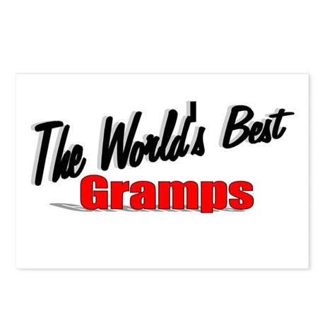 &quot;The World's Best Gramps&quot; Postcards (Package of 8)
