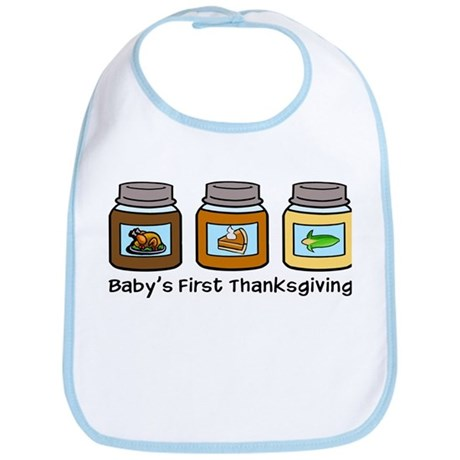 Baby's First Thanksgiving Bib