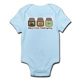 Baby's First Thanksgiving Infant Bodysuit
