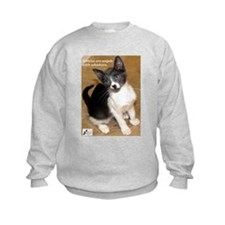 Kittens are angels with whisk Sweatshirt