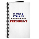 MYA for president Journal