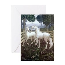 Unicorn Tapestry Greeting Card