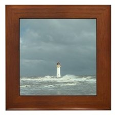 Lighthouse Framed Tile