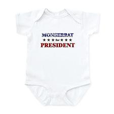 MONSERRAT for president Infant Bodysuit