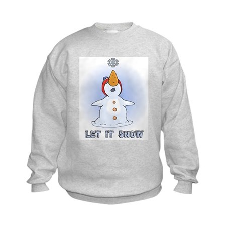 Let it Snow Kids Sweatshirt