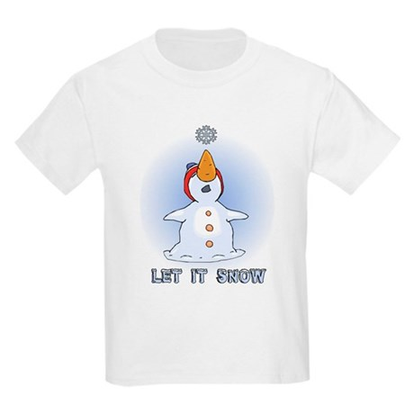 Let it Snow Kids Light T-Shirt