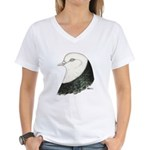 West of England Pigeon Women's V-Neck T-Shirt