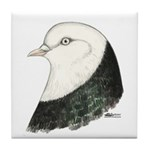 West of England Pigeon Tile Coaster